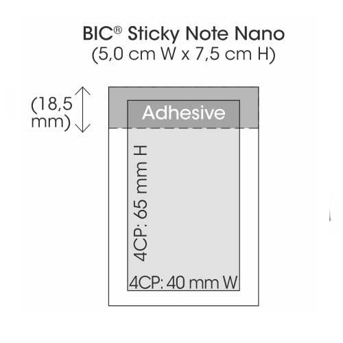 sticky note post-it personnalisable objet publicitaire clea'com