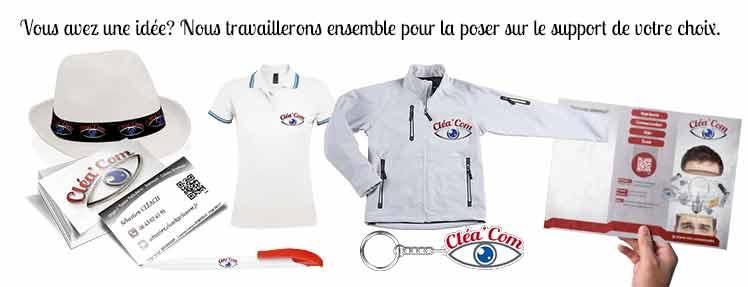 Communication, Objet publitaire et Textile sur Brest Finistère 29200 Bretagne