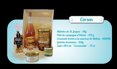 Coffrets gourmands Brest finistere Cléa'Com