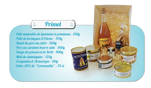 Coffrets gourmands Brest finistere 29