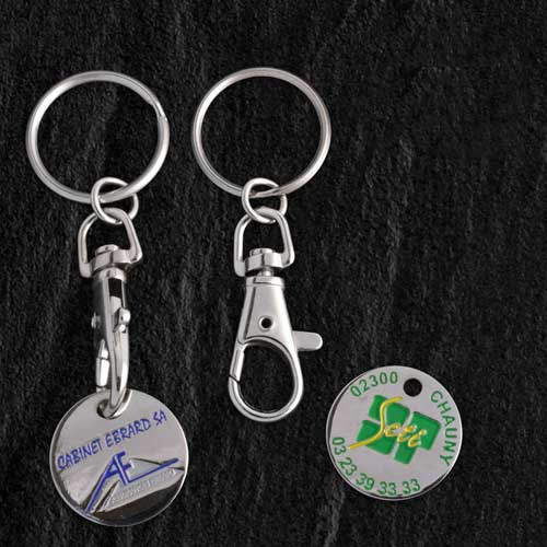 porte clés publicitaire personnalisable cadeau d'affaire objet publicitaire Cléa'com