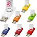 clé USB rotative personnalisable cléa'com Finistère France