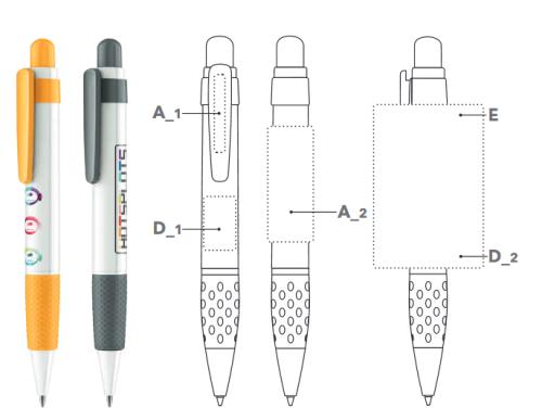 Big PEN stylo Cléa'Com
