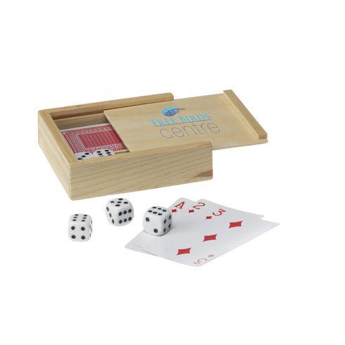 5 dés et un jeu de cartes