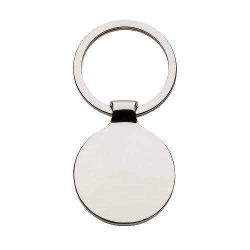 Porte-clés rond brillant