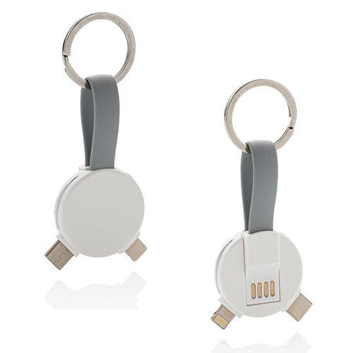 porte clés rond 3 en 1 brest