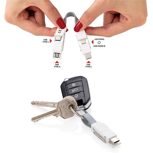 Porte clés 4 en 1
