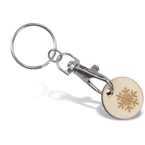 Porte clé mousqueton + jeton