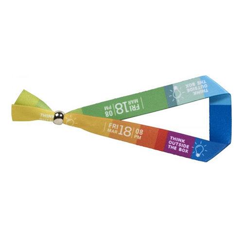Bracelet coloré par sublimation avec fermeture amovible