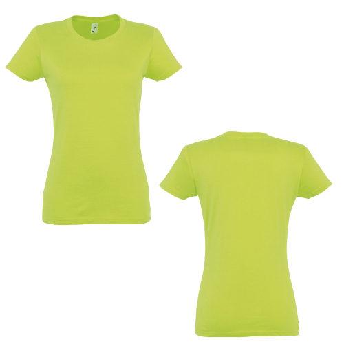 T-shirt Impérial col rond femme