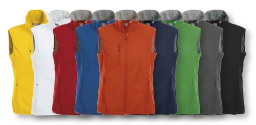 Basic Softshell Vest Ladies